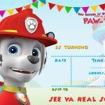 Free Printable Paw Patrol Invitation Template – All Characters | Paw – Free Printable Paw Patrol Invitations