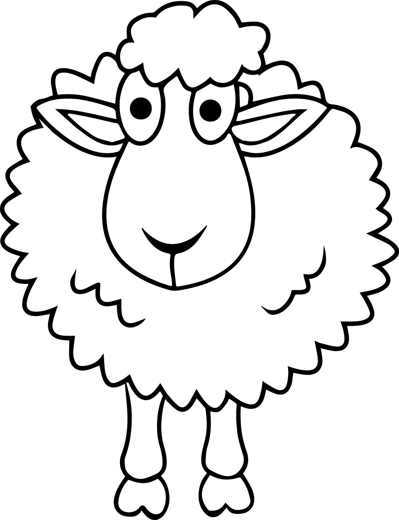 Free Printable Pictures Of Sheep - Free Printable Pictures Of Sheep