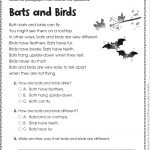 Free Printable Reading Comprehension Worksheets For Kindergarten   Free Printable Comprehension Worksheets For Grade 5