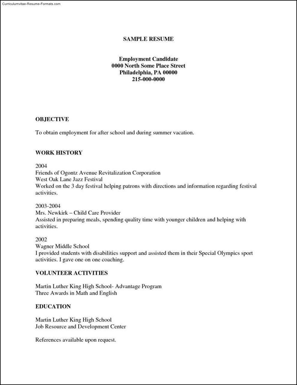 Free Printable Resumes Templates Free Samples Examples Format Resume - Free Printable Resume Templates