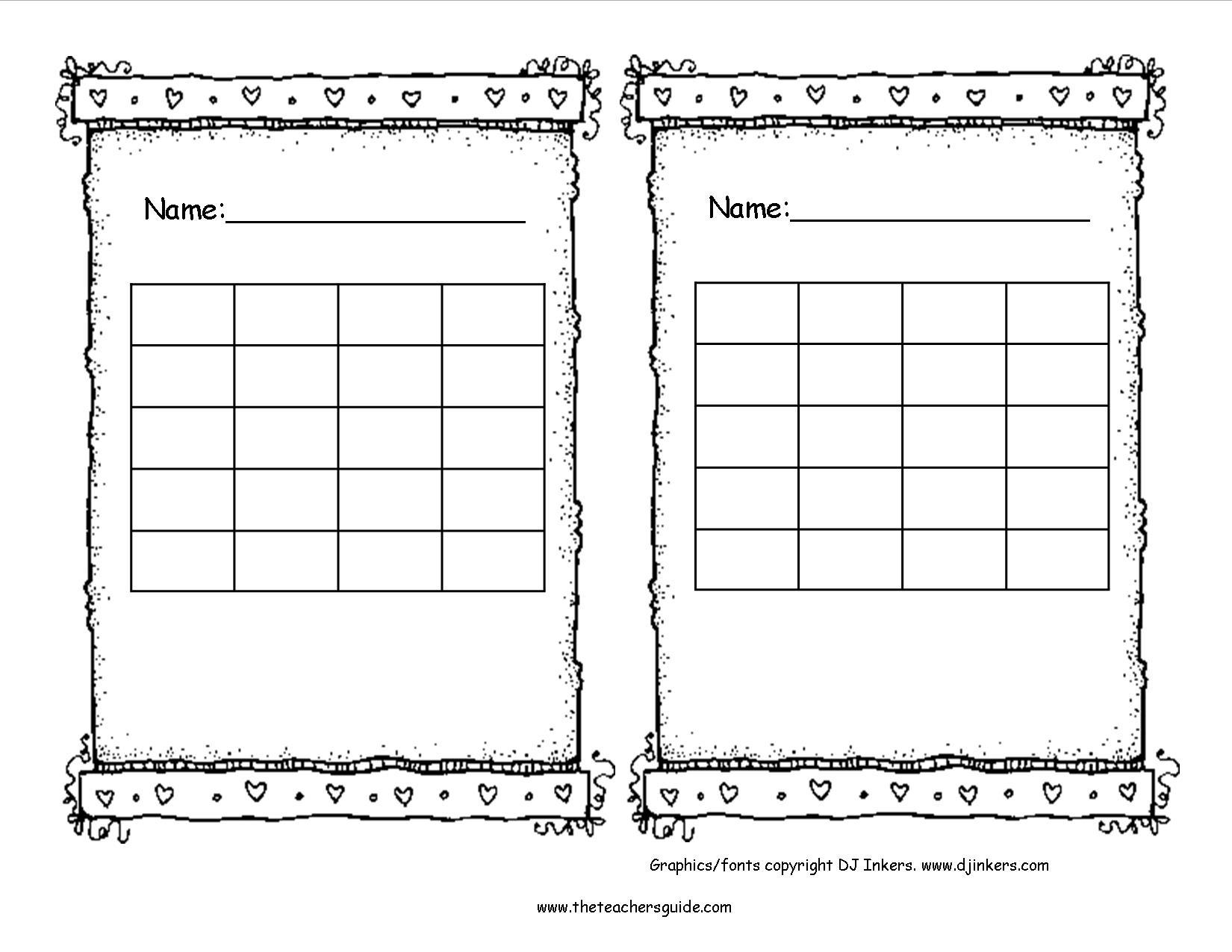 Free Printable Reward And Incentive Charts - Free Printable Sticker Charts