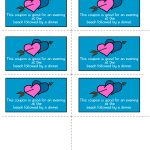 Free Printable Romantic Love Coupons – Free Printable Love Certificates For Him