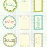 Free Printable Scrapbook Cutouts   Printable For All Topics   Free Printable Scrapbook Pages