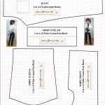Free Printable Sewing Patterns For Dolls Of Many Shapes And Sizes   Ken Clothes Patterns Free Printable