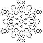 Free Printable Snowflake Coloring Pages For Kids   Free Printable Snowflakes