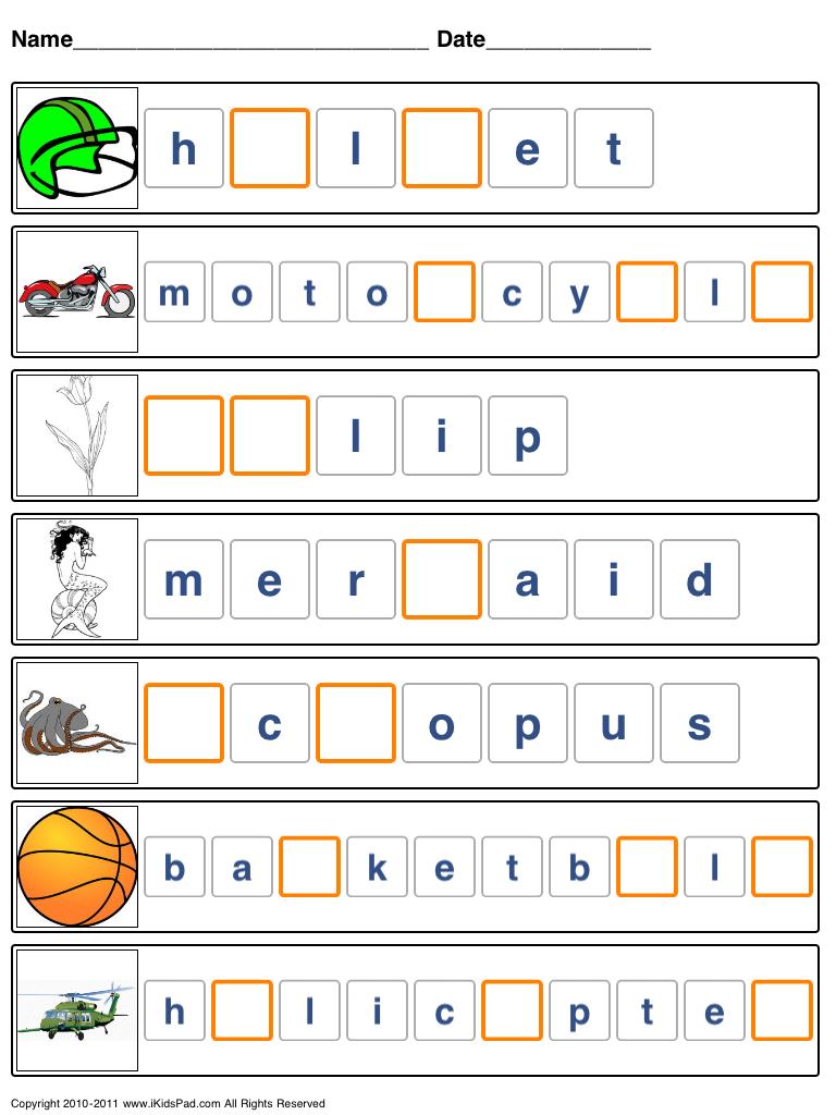 Free Printable Spelling Worksheets   Free Printable Spelling - Free Printable Spelling Worksheets