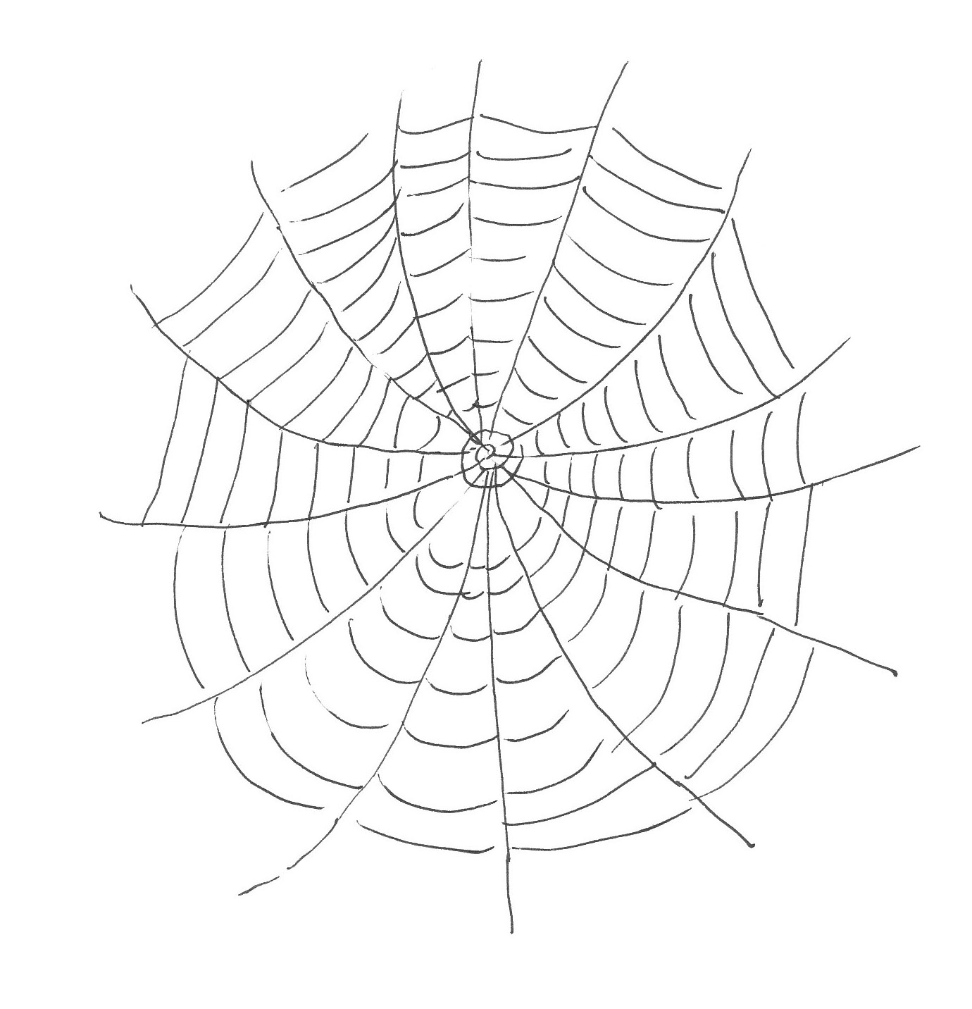Free Printable Spider Web Coloring Pages For Kids - Free Printable Spider Web