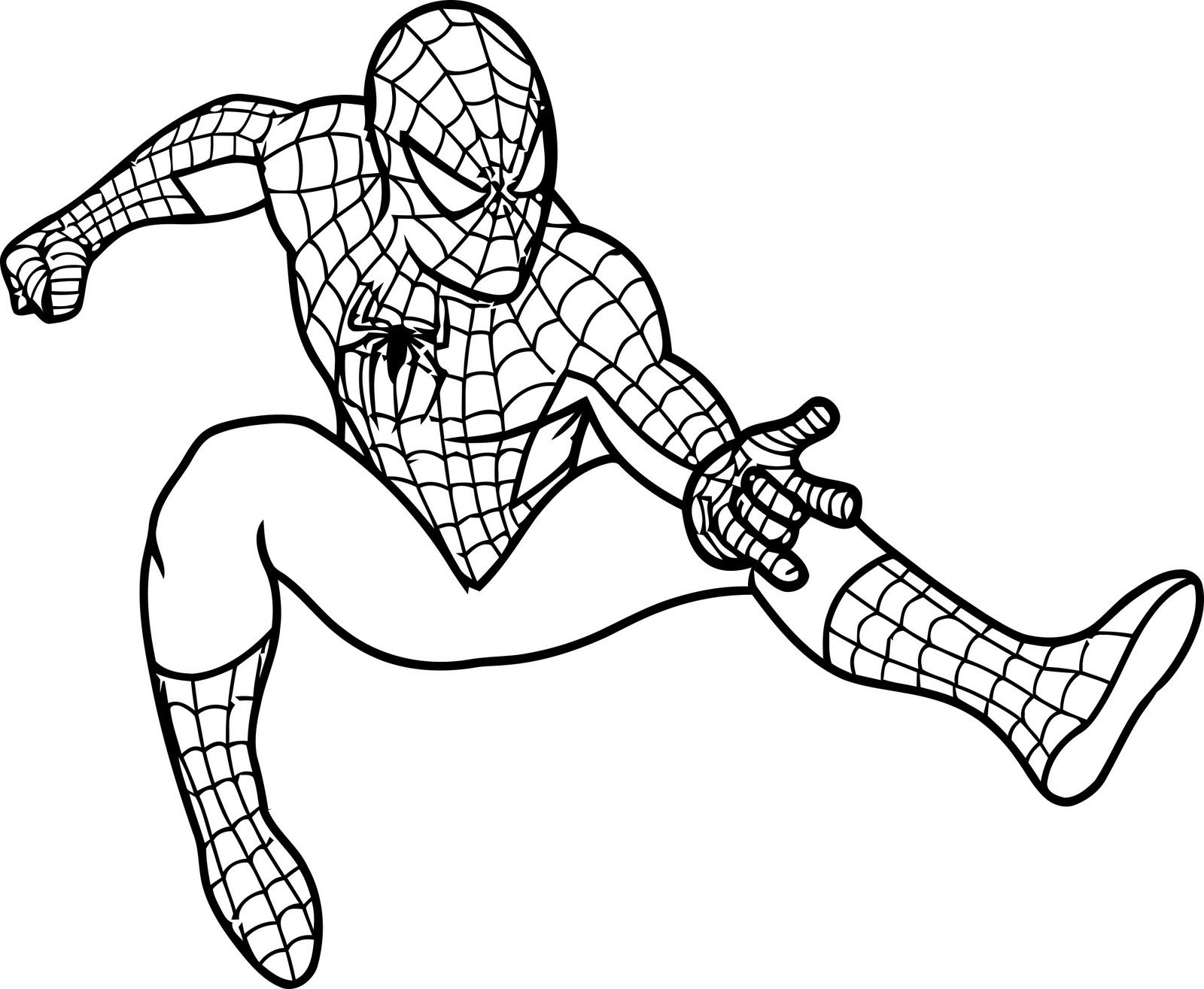 Free Printable Spiderman Coloring Pages For Kids | Projects To Try - Free Printable Spiderman Coloring Pages