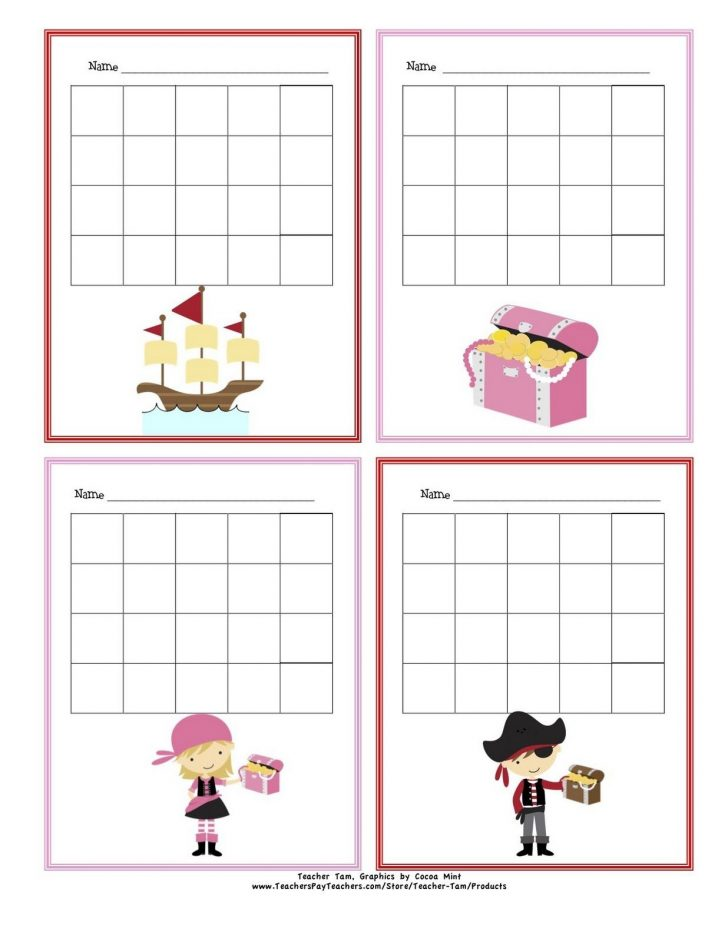 Free Printable Sticker Charts