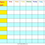 Free Printable Summer Reward Chart For Kids » Thrifty Little Mom   Free Printable Reward Charts For 2 Year Olds