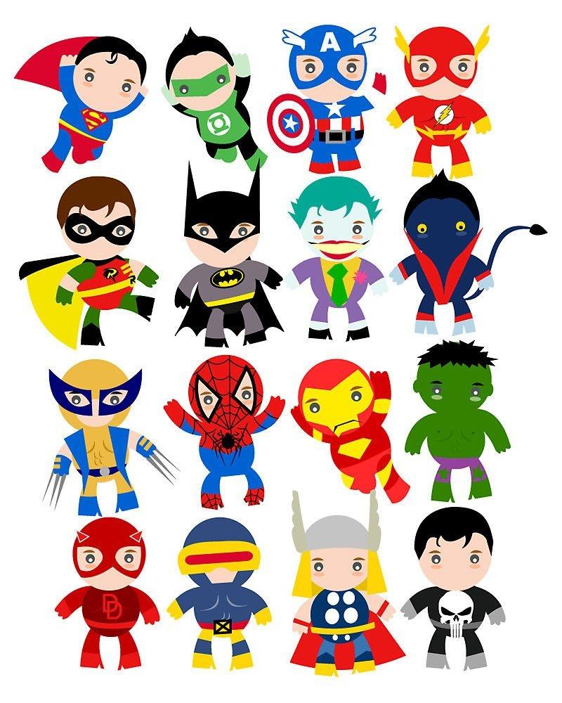 Free Printable Superhero Clipart | Ideias In 2019 | Superhero Mask - Free Printable Superhero Pictures