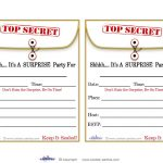 Free Printable Surprise Birthday Party Invitations Templates | Party   Free Printable Surprise 60Th Birthday Invitations