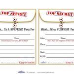 Free Printable Surprise Birthday Party Invitations Templates | Party   Free Printable Surprise Party Invitation Templates