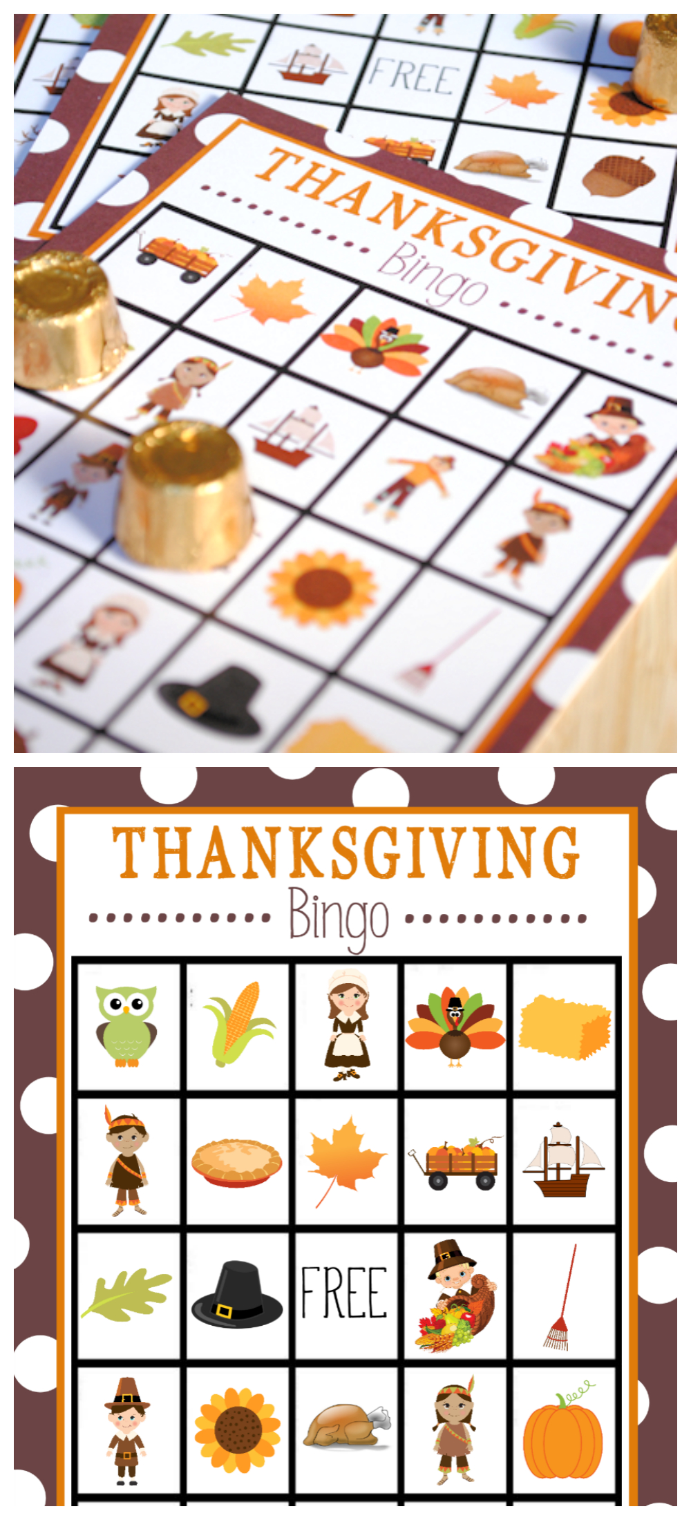 Free Printable Thanksgiving Bingo Game | Thanksgiving | Thanksgiving - Free Printable For Thanksgiving