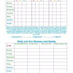 Free Printable Toddler Behavior Chart For 1, 2, 3, 4 And 5 Year Olds   Free Printable Reward Charts For 2 Year Olds