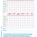 Free Printable Toddler Potty Training 2 Week Chart For 1, 2, 3, 4   Free Printable Reward Charts For 2 Year Olds