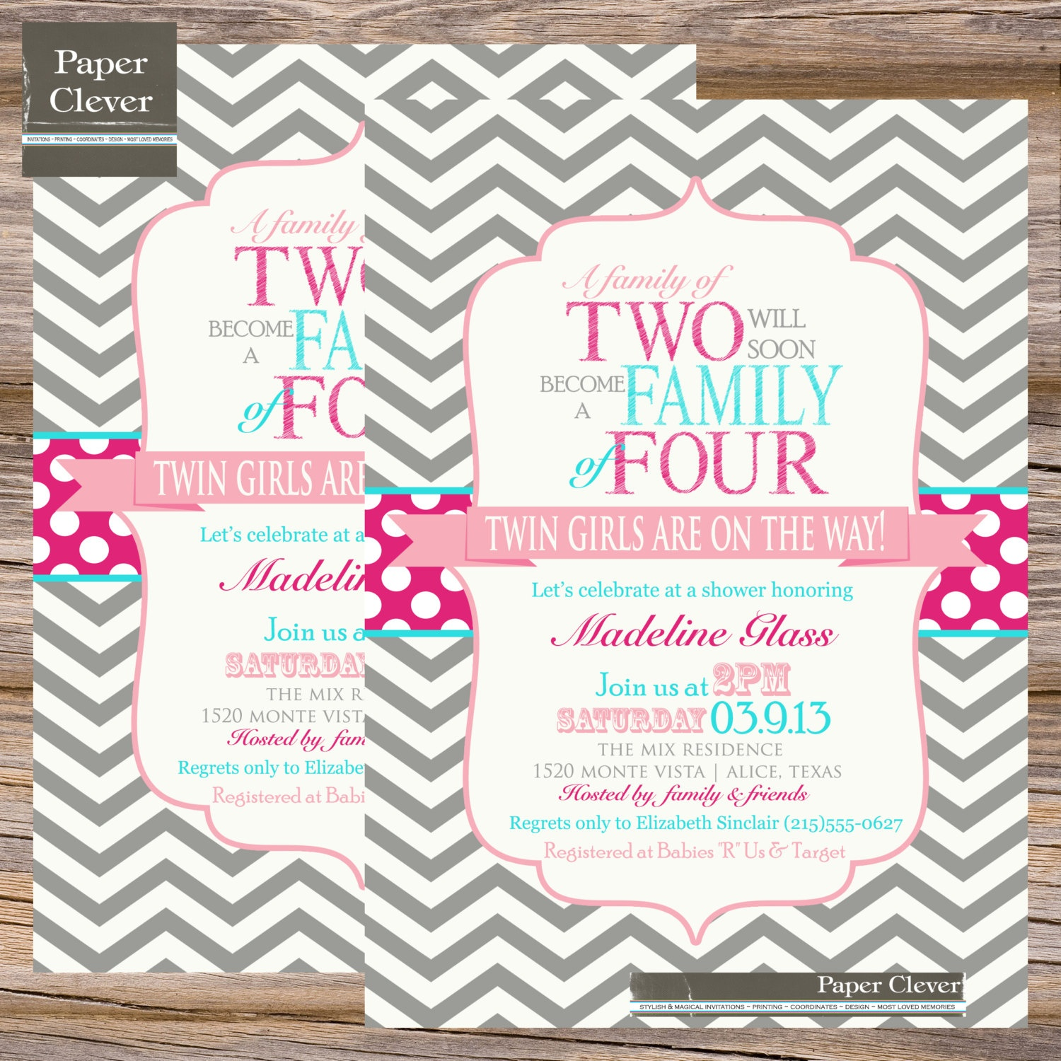 Free Printable Twin Baby Shower Invitations - Layoffsn - Free Printable Twin Baby Shower Invitations