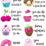 Free Printable Valentine Cards For Kids | Holidays & Parties | Free - Free Printable Valentine Cards For Kids