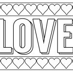 Free Printable Valentine Coloring Pages - Paper Trail Design - Free Printable Valentines Day Coloring Pages