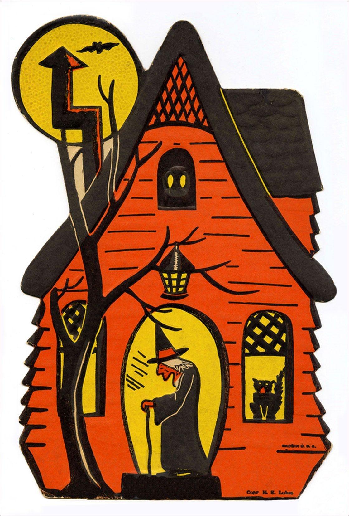 Free Printable Vintage Halloween Clip Art | Gero32Bit | Vintage - Free Printable Vintage Halloween Images