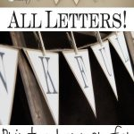 Free Printable Whole Alphabet Banner | Printables | Free Printable   Free Printable Welcome Banner Template