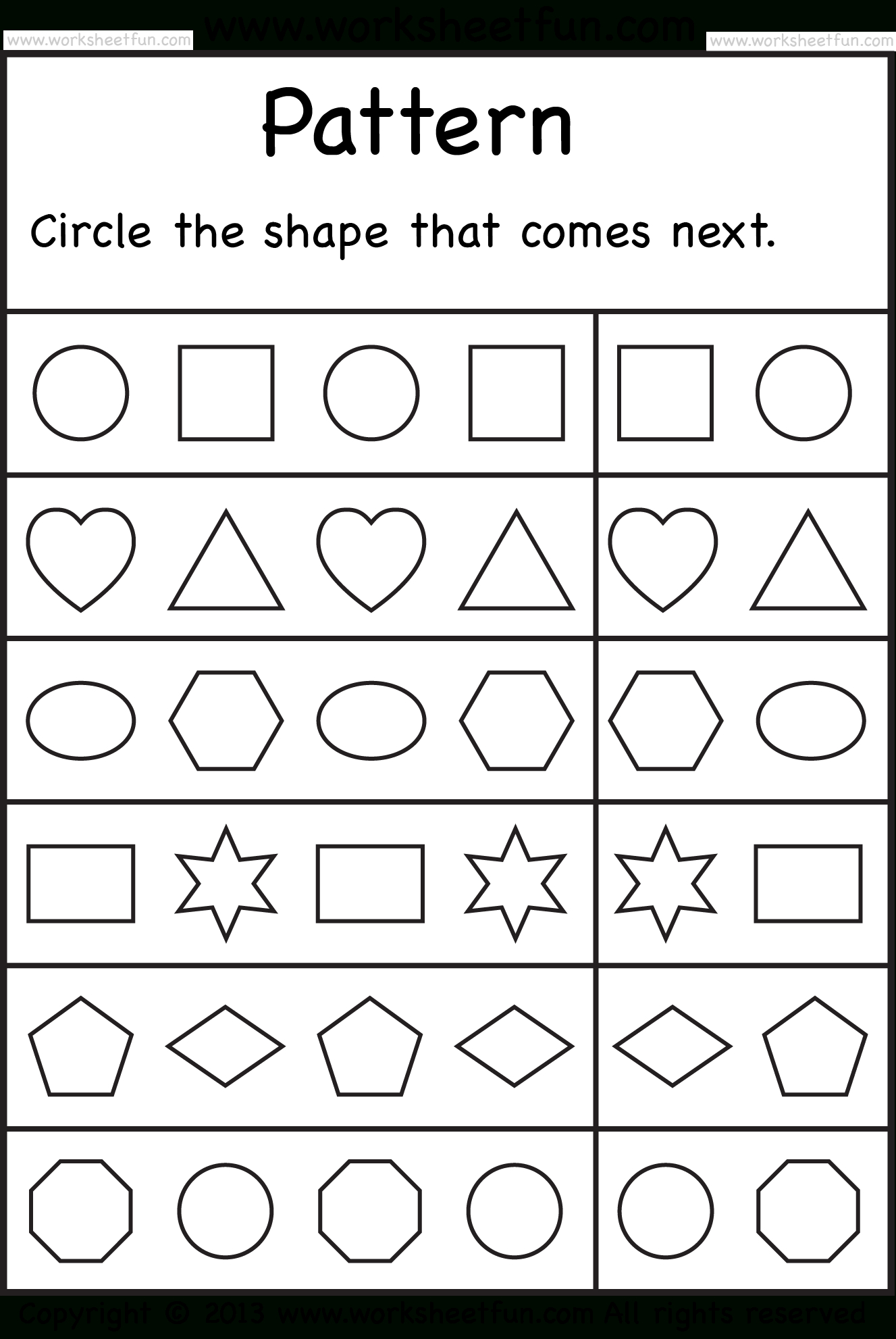 Free Printable Worksheets – Worksheetfun / Free Printable - Free Printable Pages For Preschoolers