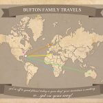 Free Printable World Travel Map   Free Printable Maps