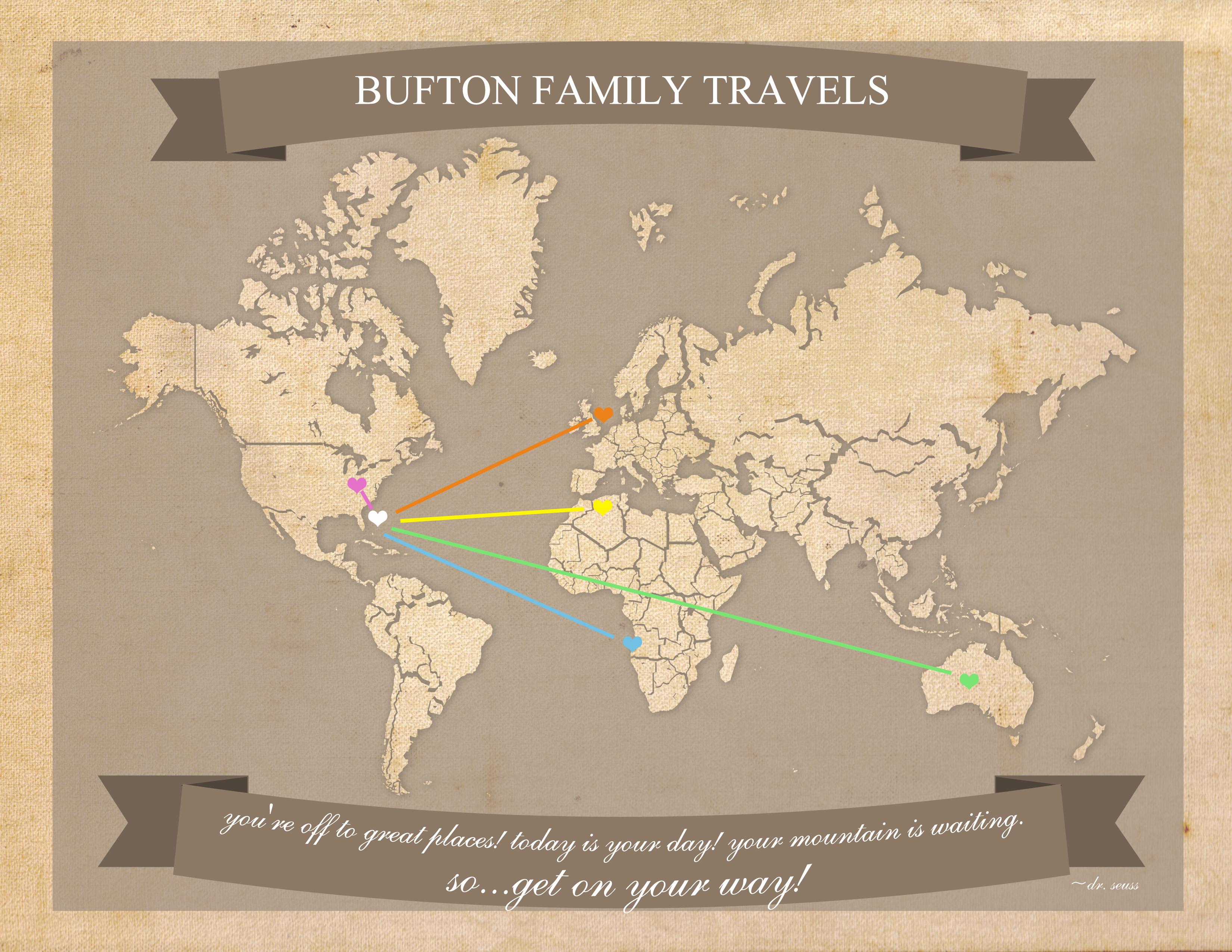 Free Printable World Travel Map - Free Printable Maps