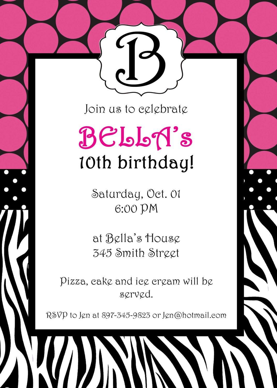 Free Printable Zebra Print Invitations Baby Shower | Emma | Free - Free Printable Zebra Baby Shower Invitations
