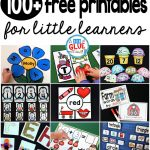 Free Printables | A Dab Of Glue Will Do Blog | Free Teaching   Free Printable Preschool Teacher Resources