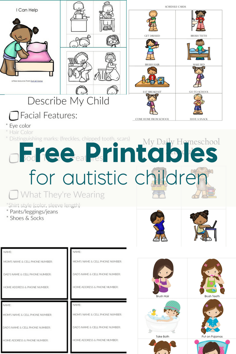 Free Printables For Autistic Children And Their Families Or Caregivers - Free Printable Social Stories For Kids