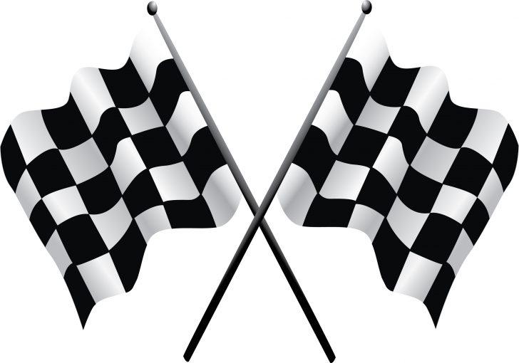 Free Printable Checkered Flag Banner
