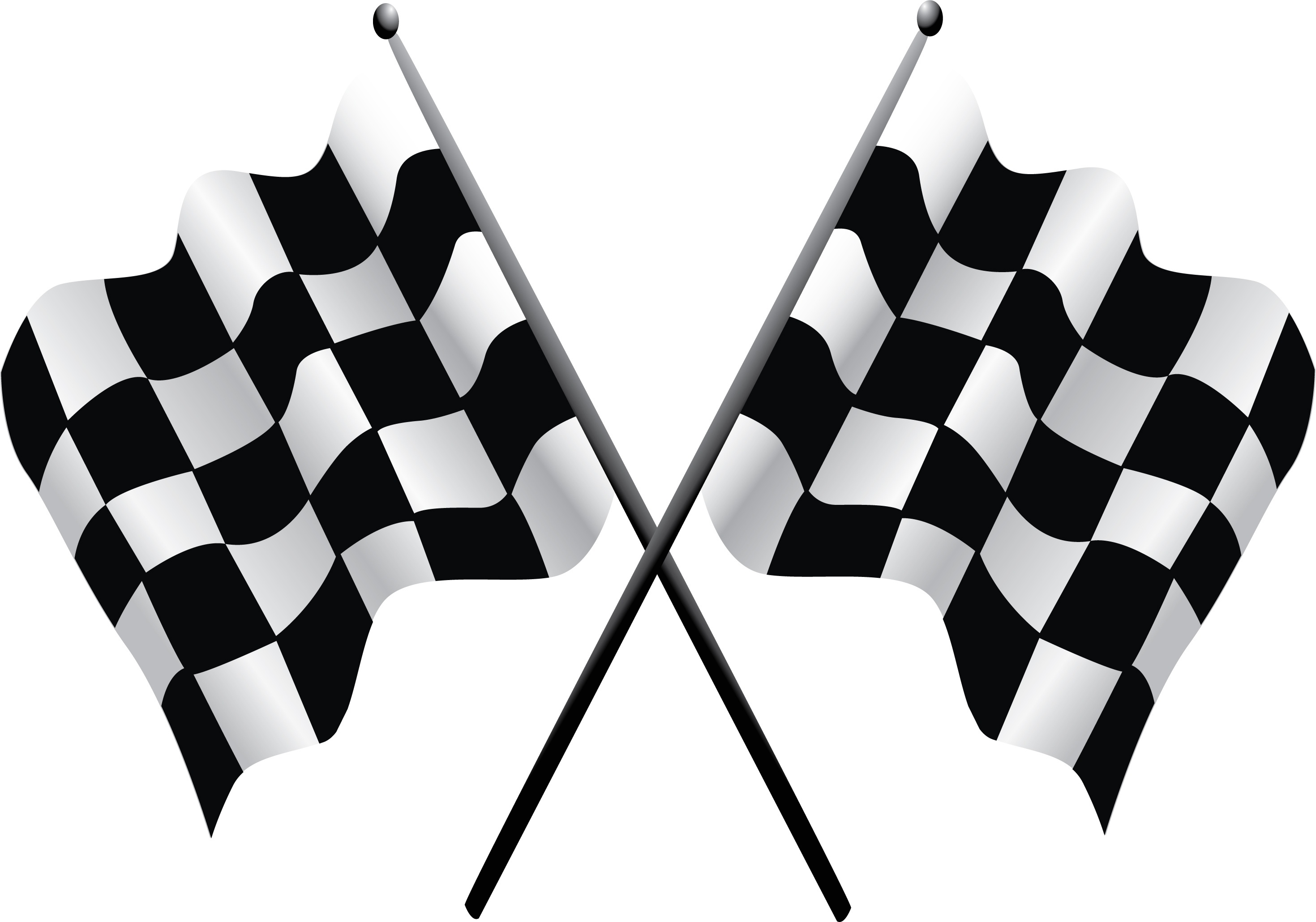 Free Racing Flag, Download Free Clip Art, Free Clip Art On Clipart - Free Printable Checkered Flag Banner