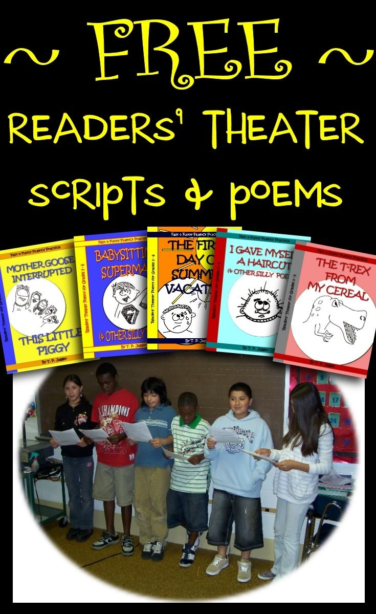 Free Readers' Theater Scripts & Poems That Provide Fast, Funny - Free Printable Readers Theater Scripts 3Rd Grade