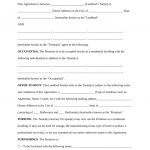 Free Rental Lease Agreement Templates   Residential & Commercial   Free Printable Lease Agreement
