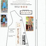 Free #sewing Pattern For 14″ (35 Cm) #dolls @ Chellywood #crafts   Free Printable Doll Clothes Patterns For 18 Inch Dolls
