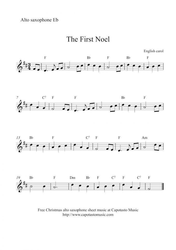 Free Printable Frosty The Snowman Sheet Music