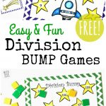 Free Simple Printable Division Games {1 2 Digit Divisors}   Free Printable Maths Games
