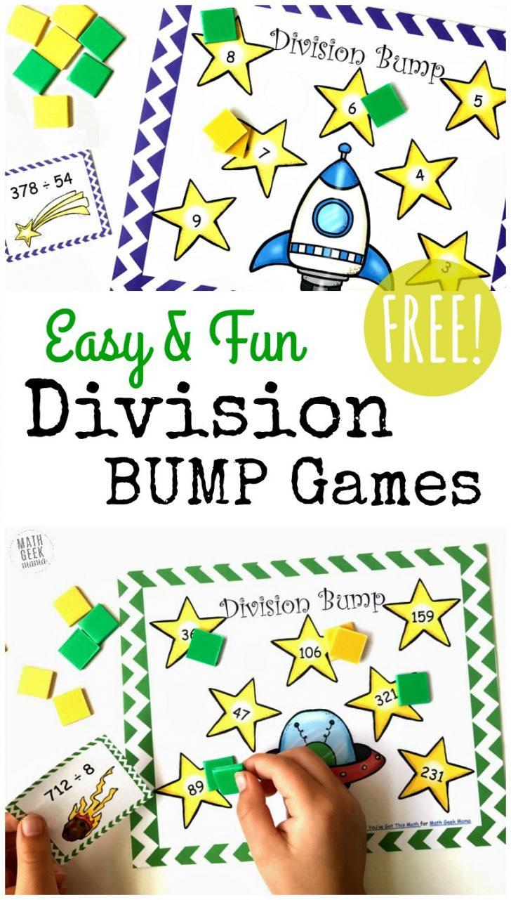 Free Printable Maths Games