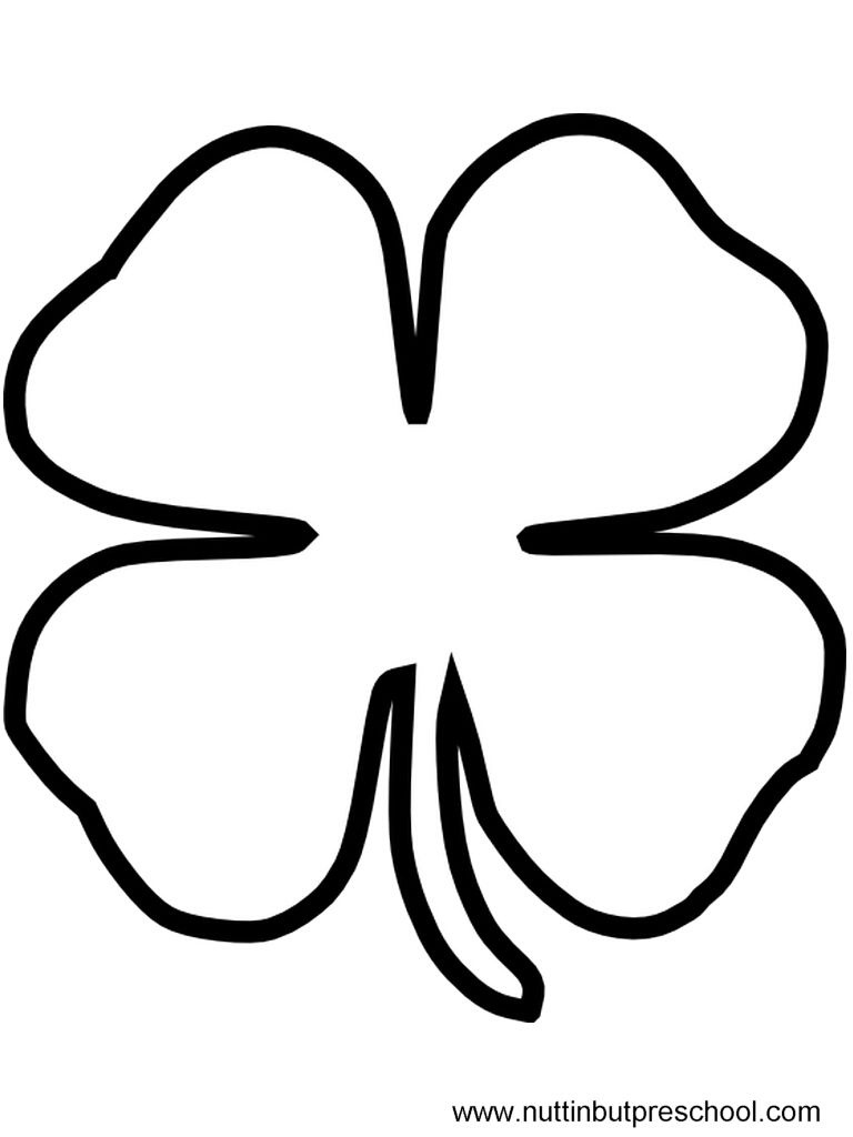 Free Stencils Print Cut Out St Patricks Day | Print Friendly (Click - Free Printable Shamrock Cutouts