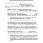 Free Texas Standard Residential Lease Agreement Template   Pdf   Free Printable Lease Agreement Texas