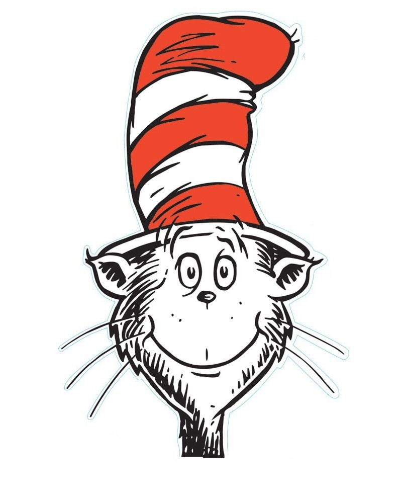 Free The Cat In The Hat Printables | Mysunwillshine | Animal - Free Printable Cat In The Hat Clip Art