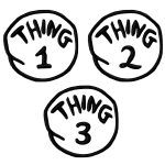 Free Thing 1 Cliparts, Download Free Clip Art, Free Clip Art On   Thing 1 And Thing 2 Free Printable Template