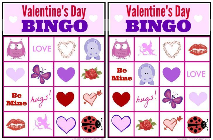 Free Printable Valentines Bingo
