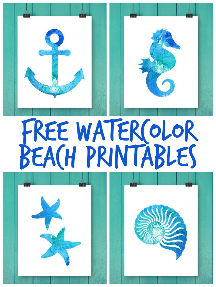 Free Printable Beach Pictures