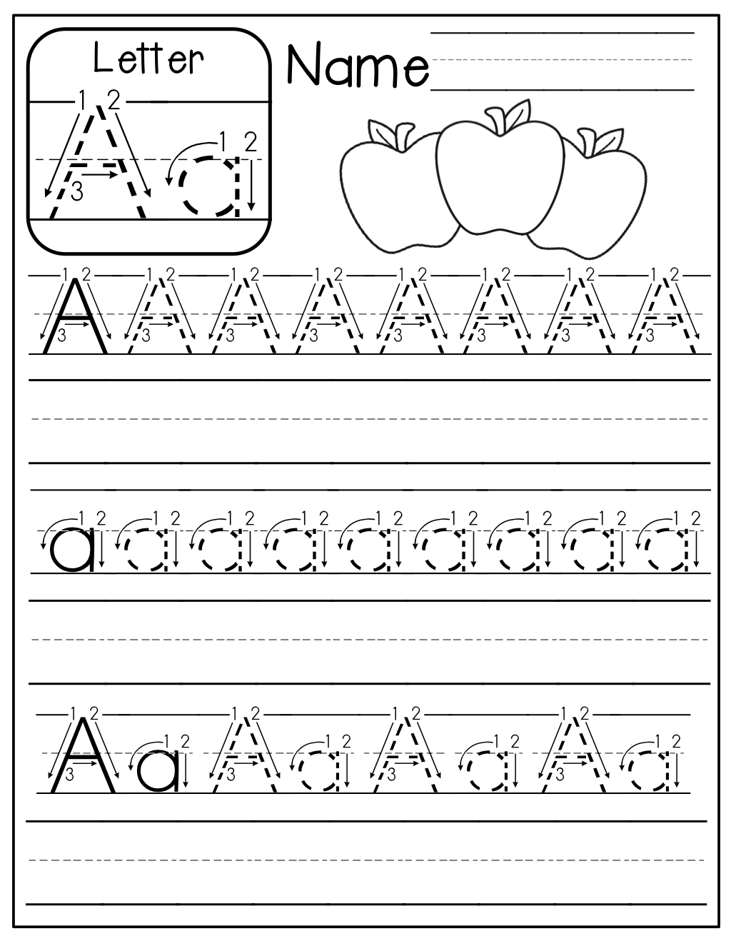 Free…free!! A-Z Handwriting Pages! Just Print Them Out, Place Them - Free Printable Practice Name Writing Sheets