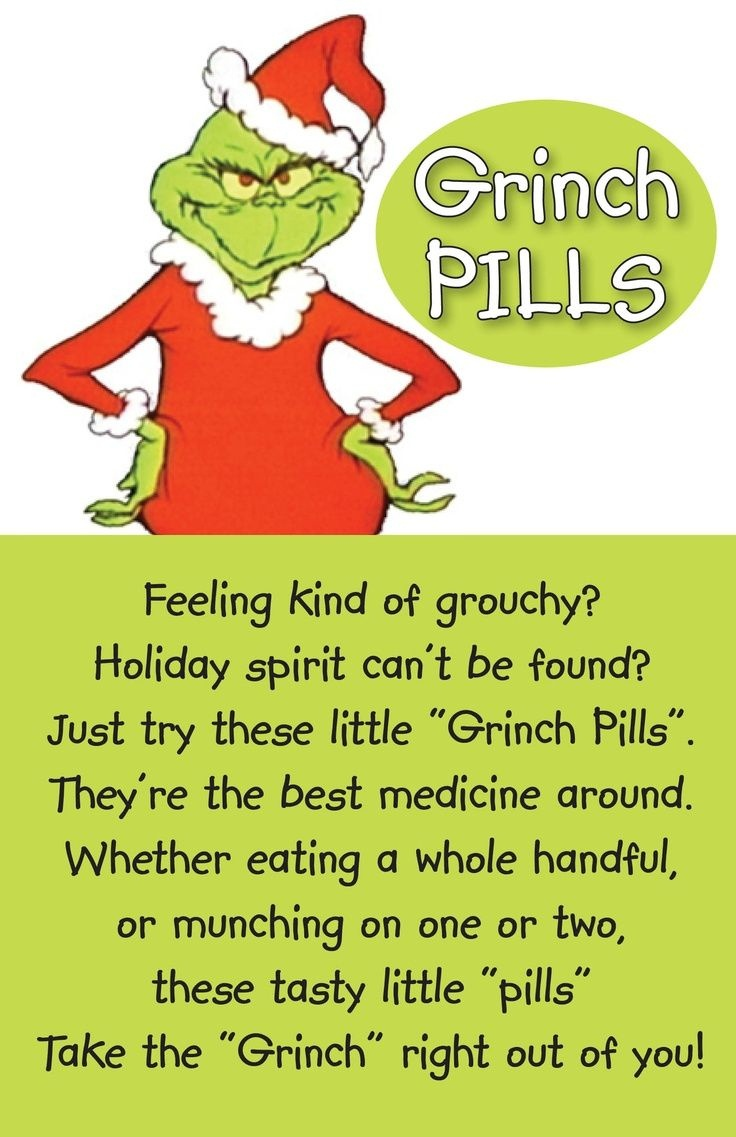 Free+Printable+Grinch+Pills | Crafty Ideas | Grinch Pills, Grinch - Grinch Pills Free Printable