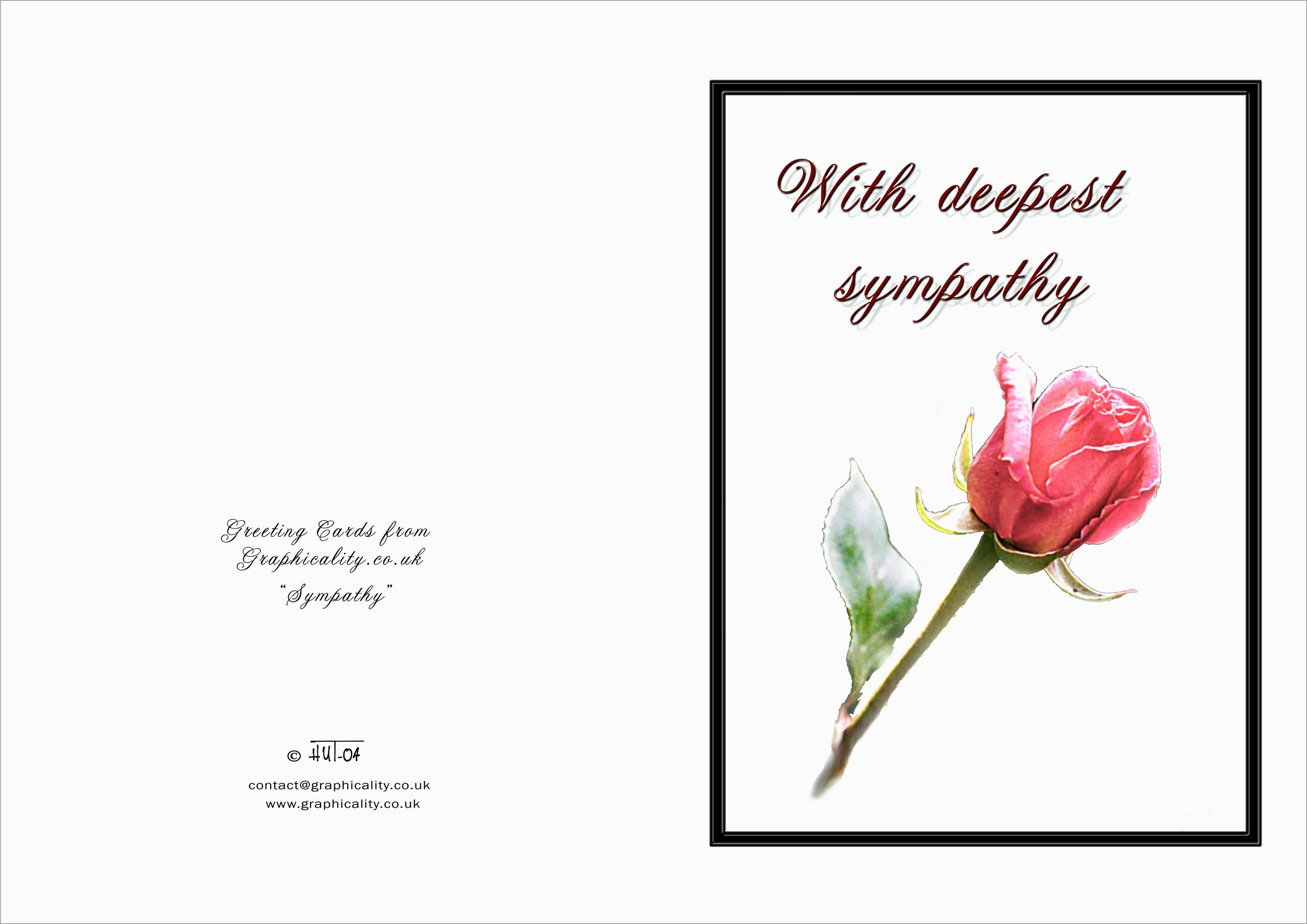 Fresh Memorial Cards For Funeral Template Free | Best Of Template - Free Printable Sympathy Cards For Loss Of Dog