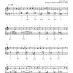 Frosty The Snow Mansteve Nelson Piano Sheet Music | Intermediate - Free Printable Frosty The Snowman Sheet Music