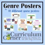 Genre Posters | Reading Workshop | Genre Posters, Reading Genre   Genre Posters Free Printable